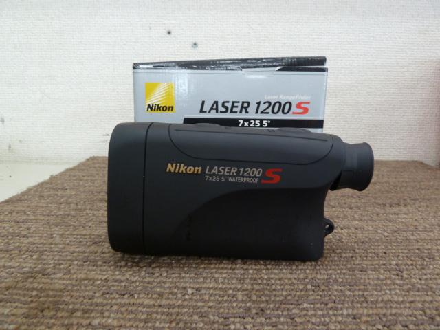ニコン Nikon レーザー距離計 レーザー1200S L1200Sを買い取りしました!岡山店
