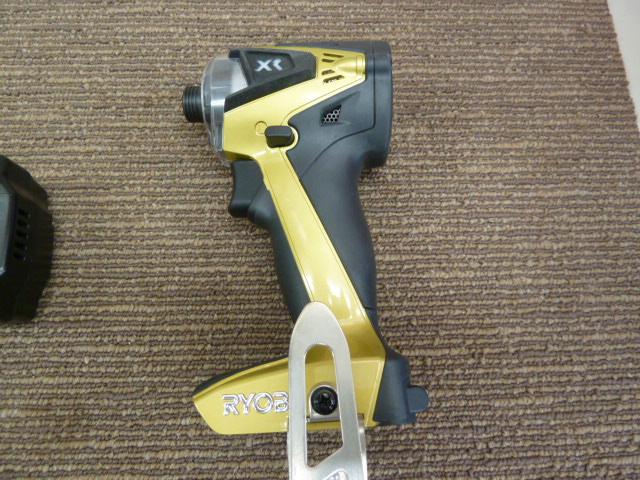 【RYOBI】リョービ 充電式インパクトドライバ BID-10XR ゴールドメタリック 18Vを買い取りしました!岡山店