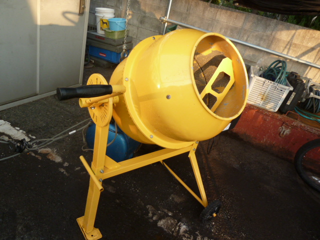 アルミス 移動車輪付コンクリートミキサーまぜ太郎 AMZ-50Yを買い取りしました!岡山店