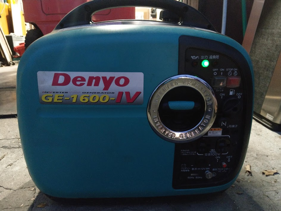 デンヨー インバーター発電機を買取しました!倉敷店