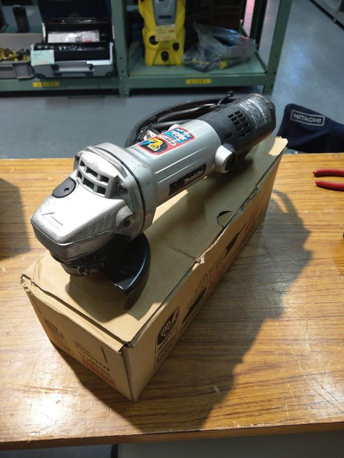 マキタ ディスクグラインダー9533Lを買取しました!倉敷店