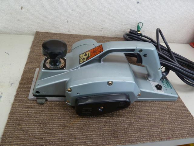 未使用■日立工機 156mm P50V 電子かんなを買い取りしました!岡山店