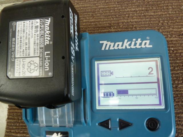 makitaマキタバッテリーを、BL1860B, BL1460Bを買い取りしました!