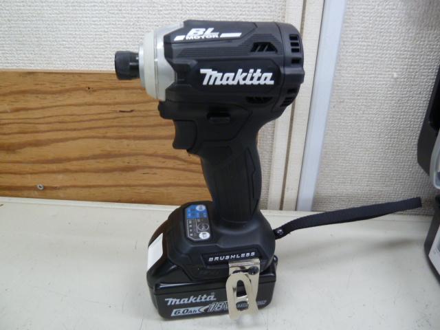 マキタ インパクトドライバー TD171DRGXBを買い取りしました!岡山店