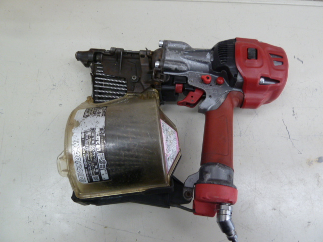MAX マックス 高圧コイルネイラ HN-90N4(D) 高圧釘打機を買い取りしました!岡山店