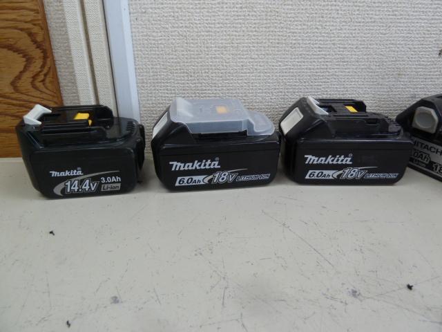 マキタ BL1860B/BL1430 リチウムイオンバッテリーを買い取りしました!岡山店