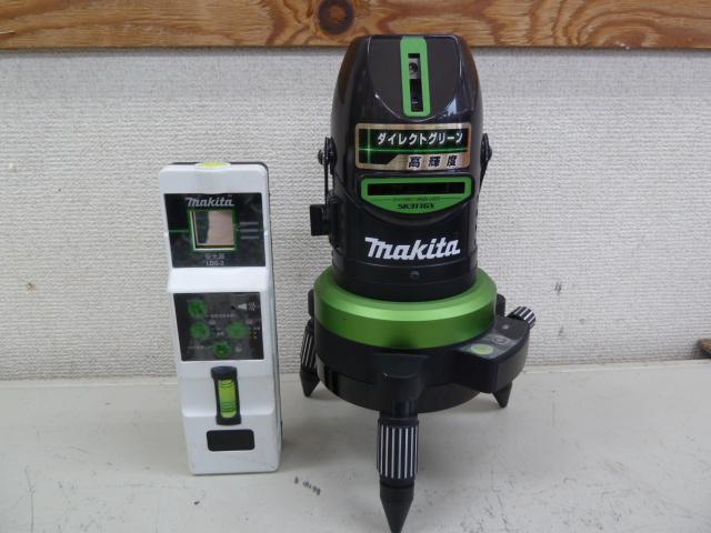 マキタ 自動追尾ダイレクトグリーン高輝度レーザー・受光器 SK311GX/LDG-2 makitaを買い取りしました!岡山店
