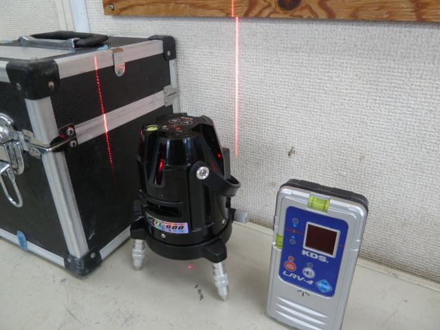 ムラテックKDS 高輝度レーザー墨出し器 ATL-600を買い取りしました!岡山店