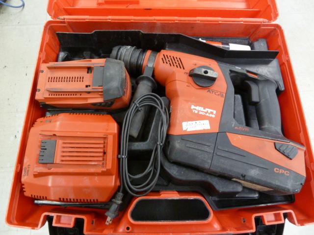 ヒルティ 36V 6.0Ah 充電式ハンマードリル TE30-A36 在庫あります!岡山店