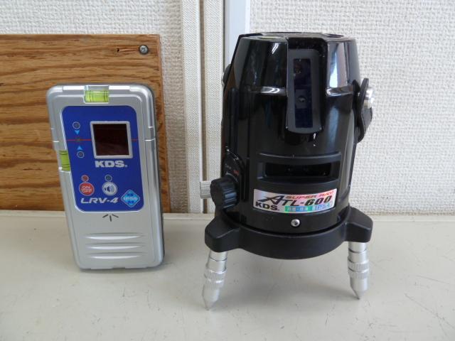 ムラテックKDS  高輝度レーザースーパーレイ ATL-600受光器付き レーザー墨出器を買い取りしました!岡山店