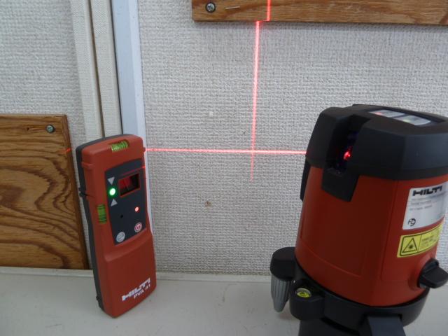 HILTI 高精度ラインレーザー レーザー墨出し器 PV42 を買い取りしました!岡山店
