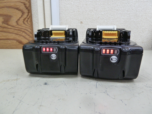 マキタバッテリー中古品・美品 BL1860B BL1460Bを買い取りしました!岡山店