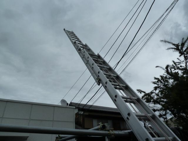 ハセガワ(長谷川) LA3 アルミ3連はしご (業務用JIS認定品) LA3-120 スタビライザー(安定性補助器具)付きを買い取りしました!岡山店