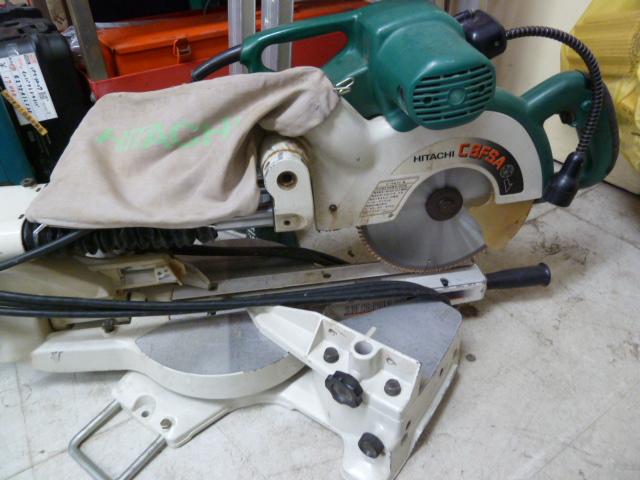 日立工機 卓上スライド 丸のこ  216mm C8FSA を買い取りしました!岡山店
