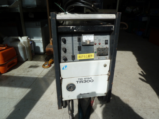 パナソニック TIG溶接機 YC-300TR5 を買い取りしました!岡山店
