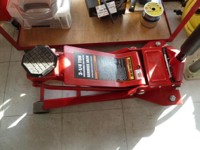 BIG RED 3.2t油圧ジャッキ フロアジャッキ 低床 ガレージジャッキを入荷しました! 岡山店
