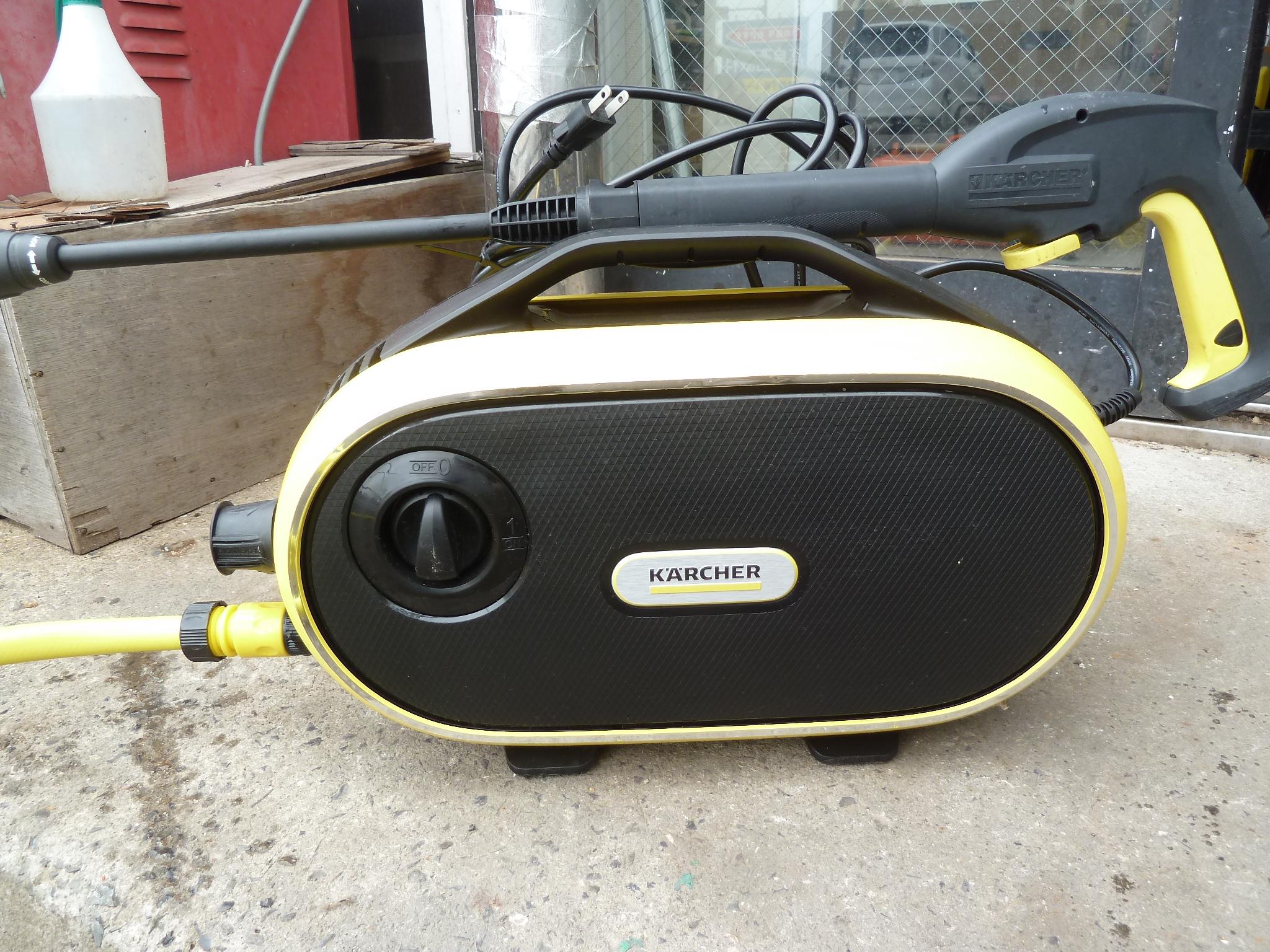 ケルヒャー家庭用高圧洗浄機 JTKサイレント を買い取りしました!岡山店