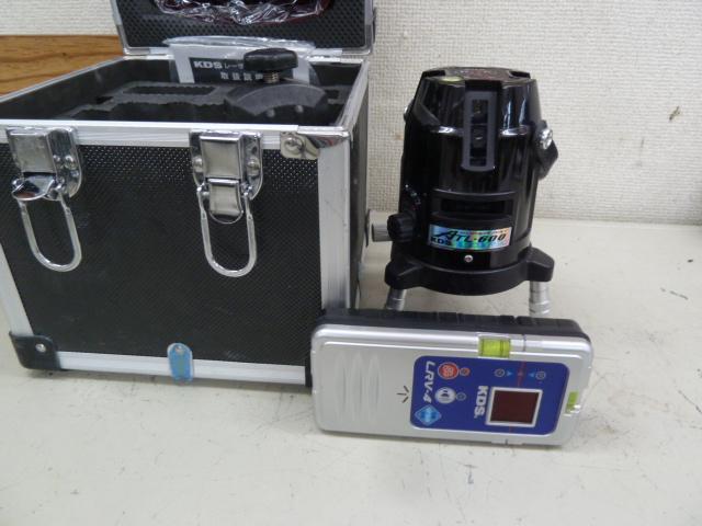ムラテックKDS 高輝度レーザー墨出し器 ATL-600 を買い取りしました!岡山店