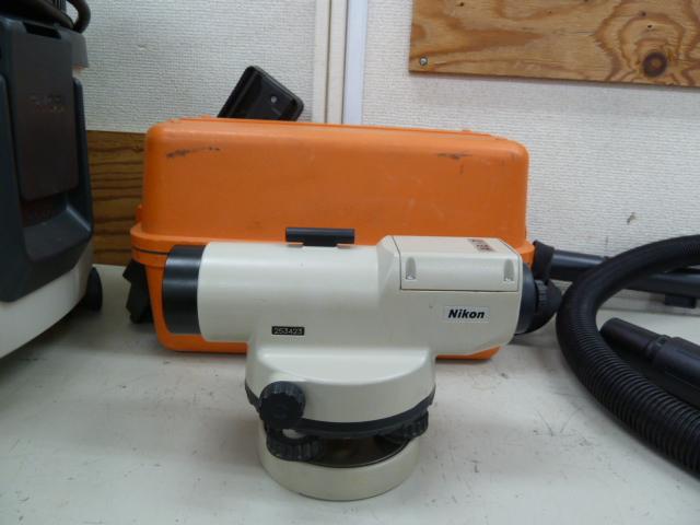 Nikon ニコン 完全防水 オートレベル AE-7C 測量器 を買い取りしました!岡山店