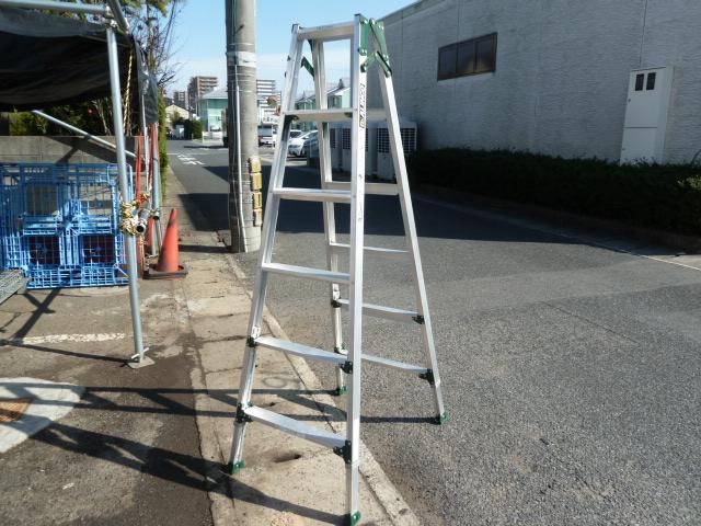 アルインコ PRT-180FX 伸縮脚付きはしご兼用脚立 を買い取りしました!岡山店