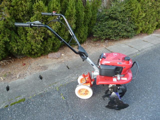 小型耕うん機「こまめ」ホンダ管理機 F220スターローター付き、車輪付きを買い取りしました!岡山店