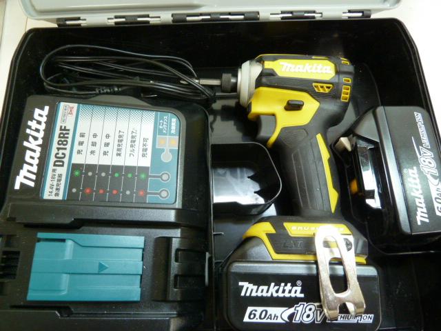 マキタ 18V インパクトドライバー TD171D 新品・中古品 買取強化中です。