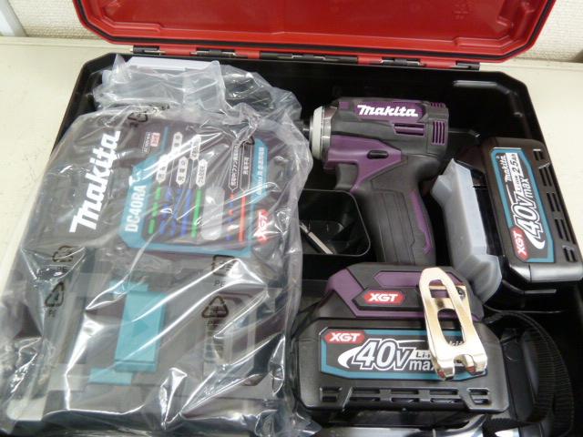 マキタ(Makita) 充電式インパクトドライバ TD001GDXAP [オーセンティックパープル] を買い取りしました!岡山店