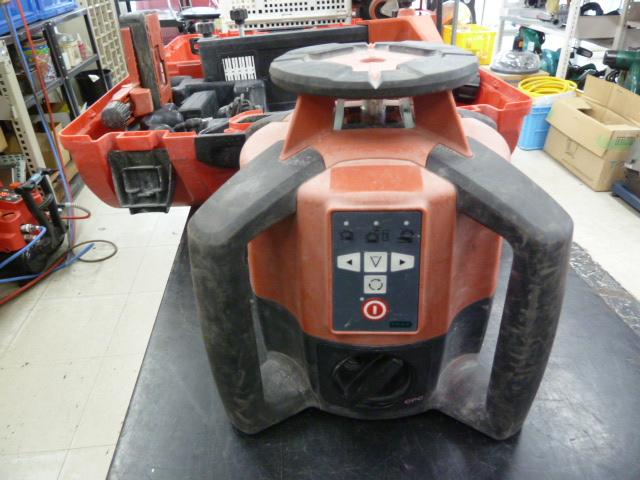 日本ヒルティ(HILTI) 回転レーザー PR35 測定器 を買い取りしました!岡山店