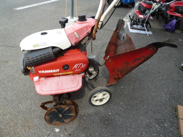 ヤンマー管理機 マイティラー MT30DX、ワンタッチ培土機付き在庫あります。岡山店