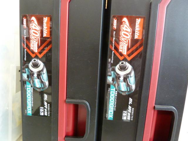 新品マキタ 40Vインパクトドライバー TD001GRDX を買い取りしました!岡山店