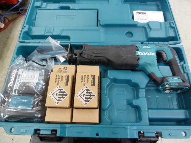 マキタ JR187DRGX 18V充電式レシプロソー を買い取りしました!岡山店
