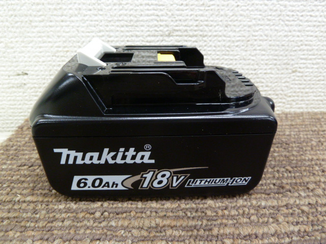 新品マキタバッテリー BL1860Bを買い取りしました! 岡山店