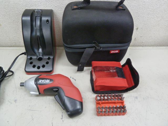 リョービ 充電式スクリュードライバー BDX-1 を買い取りしました!岡山店