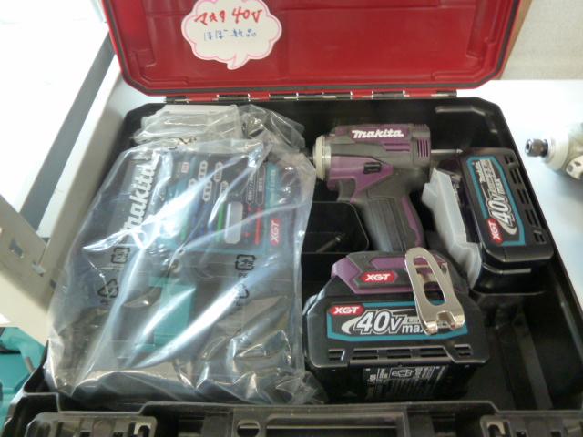 マキタ インパクトドライバー TD171D、TD001GRDX を買い取りしました!岡山店