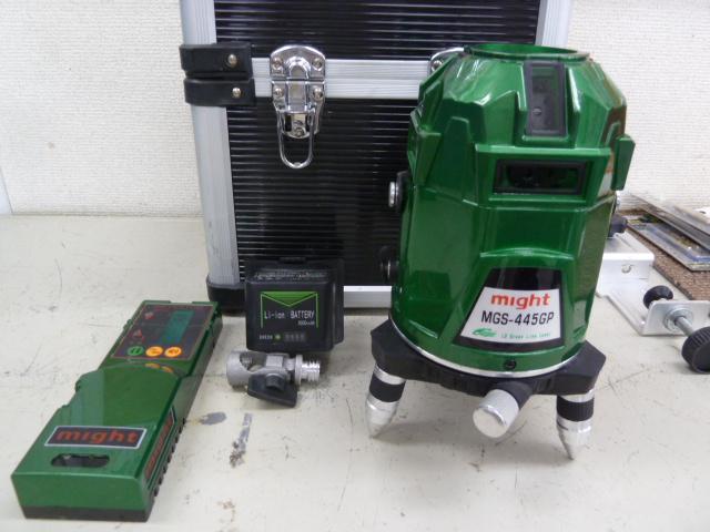 マイト工業 MGS-445GP 超高輝度LDグリーンレーザー を買い取りしました!岡山店
