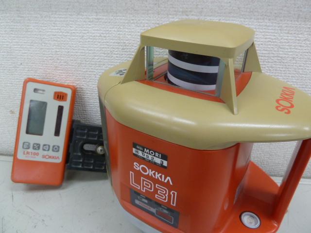 SOKKIA☆ソキア電子レ-ザ-レベルプレーナーLP31 を買い取りしました!岡山店