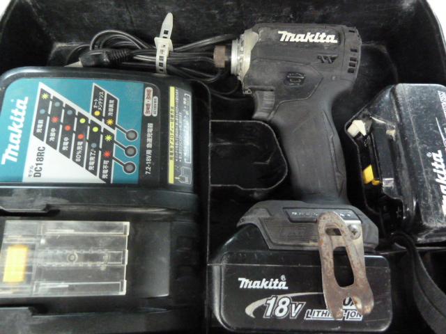 マキタ 18V インパクトドライバー TD171D を買い取りしました!岡山店