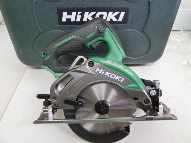 ハイコーキ HiKOKI(日立工機) C14DBL(LYPK)(B) フルセット/黒(6.0Ahバッテリー、充電器、チップソー、ケース付)を買い取りしました!岡山店