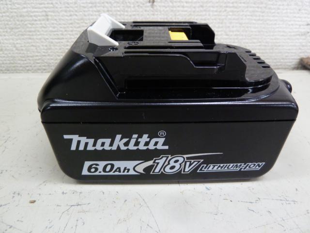 マキタバッテリー 新品 BL1860B を買い取りしました!