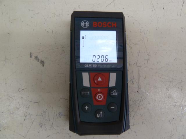 BOSCH ボッシュ レーザー距離計 GLM50 を買い取りしました!岡山店