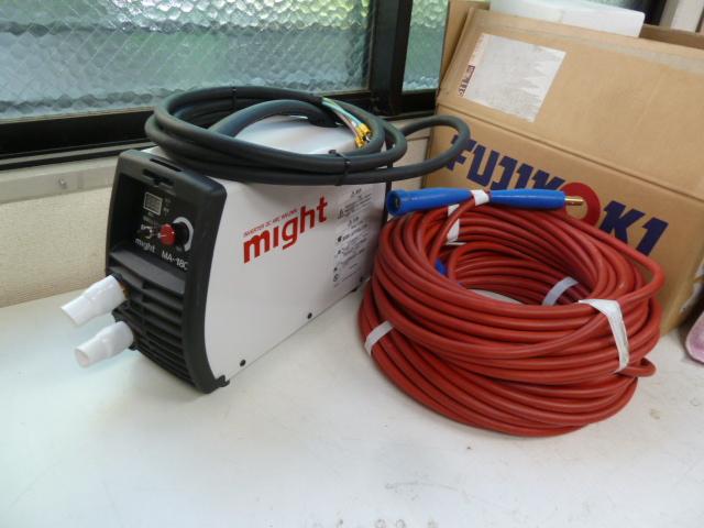 マイト工業 200V インバータ直流 アーク溶接機 MA-180DF を買い取りしました!
