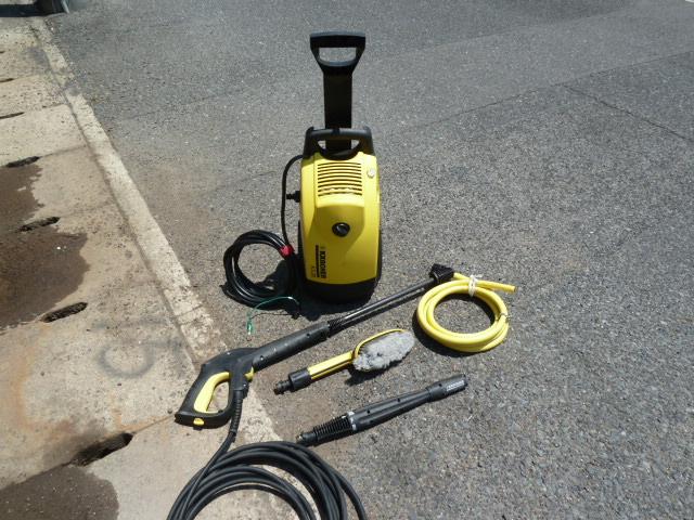 KARCHER(ケルヒャー) タイヤ付き 家庭用高圧洗浄機  K5.20Mプラス を買い取りしました!