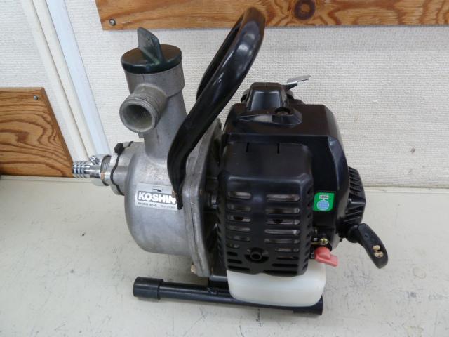 工進 エンジンポンプ KR-25 ロビンエンジン を買い取りしました!
