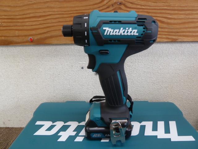 マキタ(Makita)  108V 充電式ドライバドリル DF033DSHX を買い取りしました!