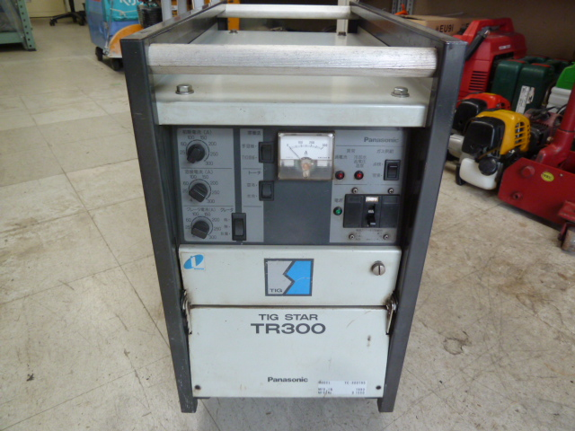 Panasonic/パナソニック インバータTIG溶接機 TIGSTAR TR300 YC-300TR5 を買取しました。岡山店