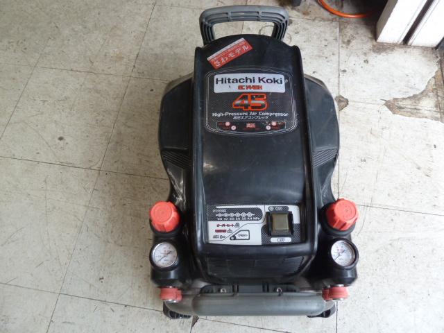 日立(ハイコーキ)高圧エアーコンプレッサー EC1445H 販売中です。岡山店
