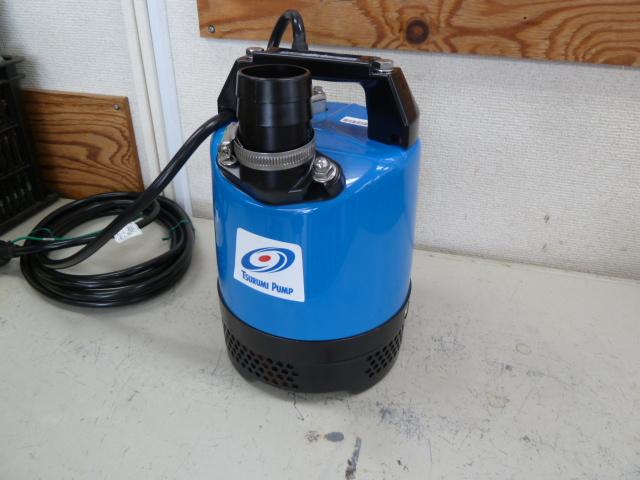 鶴見製作所 ツルミポンプ 一般工事排水用水中ハイスピンポンプ LB型 LB-480 を買取しました。