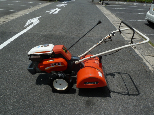 クボタ 耕運機TR-6 正逆転ロータリー仕様 管理機 を買取しました。岡山店