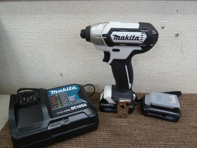 マキタ 10.8V 充電式インパクトドライバ TD110D を買取しました。岡山店