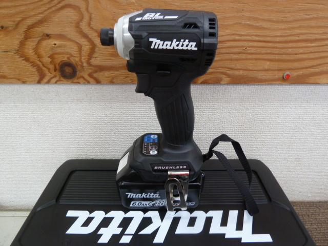 マキタ 新品18Vインパクトドライバー TD171DRGXB を買取しました!岡山店